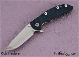 """Gen III XM18 3"""", Blue/Black G10"""