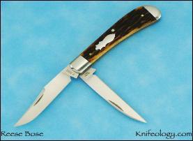 Wharncliff Trapper, Remington Bone