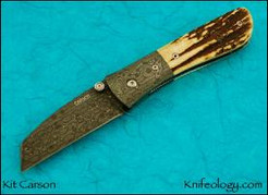 Model 21, Mike Norris Sun Storm Damascus, Stag