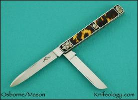 Dr's Knife, Tortuous Inlays, Joe Mason Engraving