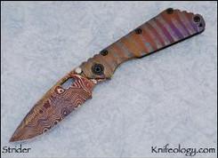MSC SMF Damascus Nightmare Dagger Grind