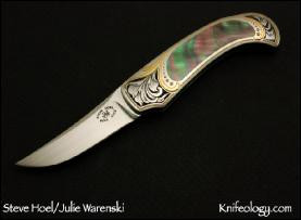 Small Persian, Engraved by Julie Warenski