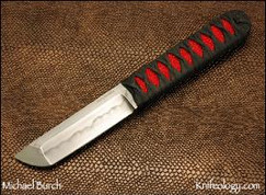 Tanto, Traditionally Wrapped Red Ray Skin