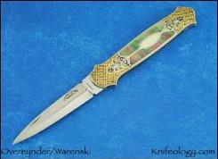 Dagger engraved by Julie Warenski