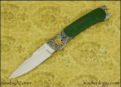 Swift, Green Jade and Cover Engraving
