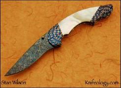 Advisor, Reitveld Snakeskin Blade, Marks Byzantium Bolster