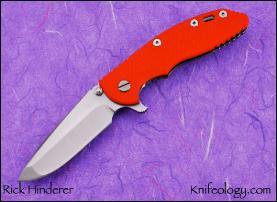 "XM18 3.5"" Custom, Spanto, Orange G10"