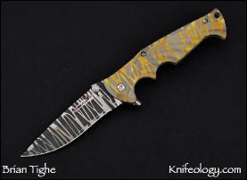 Tighe Breaker w/Gold and Silver Tigher Stripes