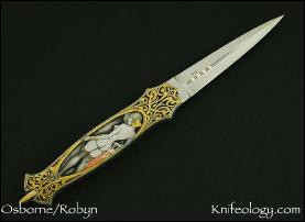 Dagger, Vargas Girls Engraved by Jon Robyn