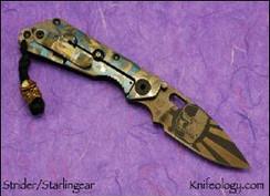 Strider Starlingear Collab DDC - Bronze Kamikaze Bead - back