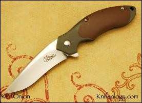 Small Rage, Coyote Brown G10 Inlay