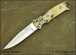 Hideout w/Mammoth engraved by Joe Mason