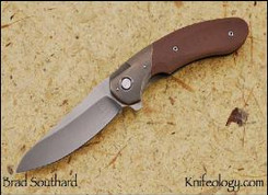AWT, Ti Bolster, Coyote Brown Scale