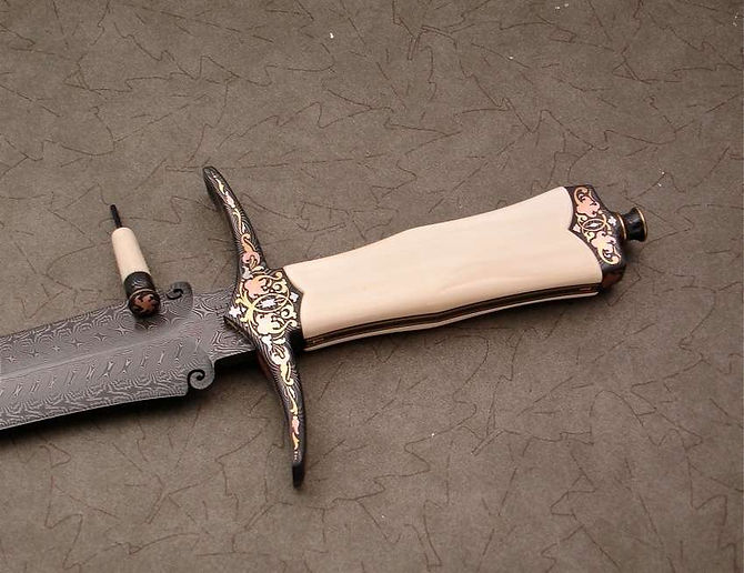John White Dagger Brian Hochstrat Engrav