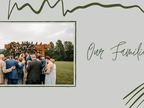 Wedding Series: Our Families