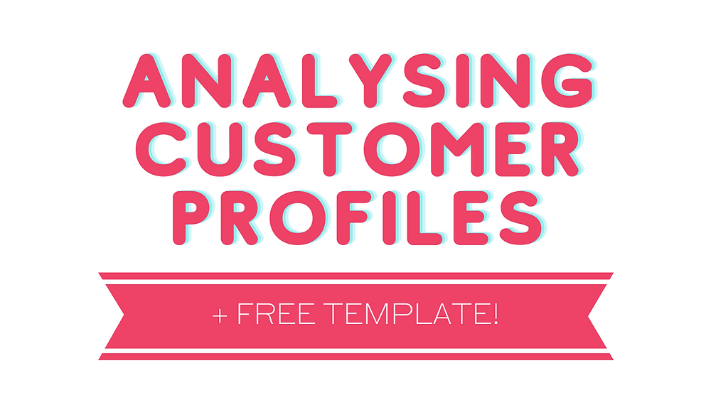 analysing customer profiles free printable template business marketing