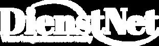 Dienstnet logo white letters logo.png
