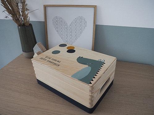 Erinnerungsbox Krokodil