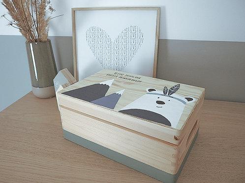 Erinnerungsbox Eisbär