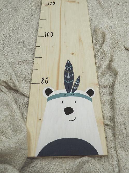 Messlatte Eisbär
