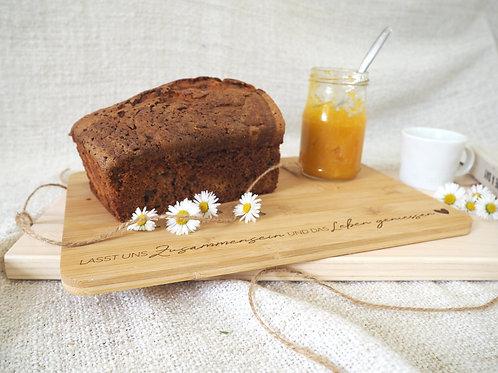 Kuchenbrett mit besonderen Botschaften