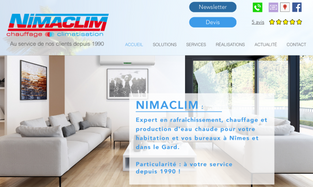 Création de sites internet à Nîmes : Step'web, agence web à Nîmes, lance le nouveau site interne