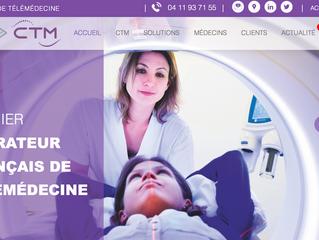Step'web, agence web à Nîmes, lance le nouveau site internet de CTM
