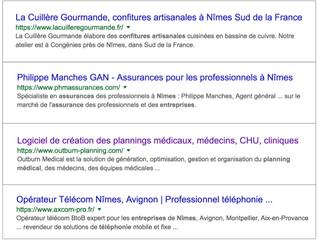 Step'web, agence web et spécialiste du référencement naturel sur Google à Nîmes
