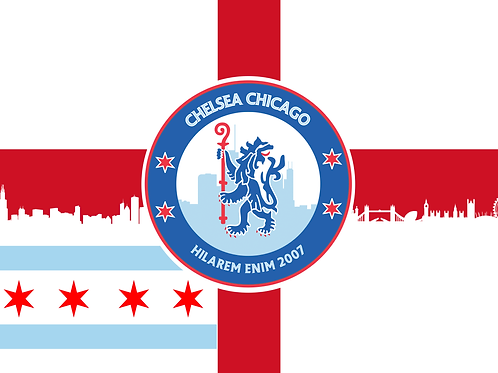 Chelsea Chicago Hybrid Flag