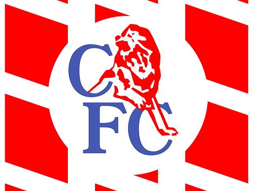 CFC Commodore Retro Flag