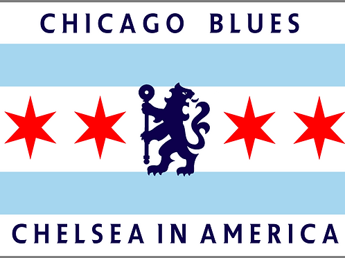 Chicago Blues Sticker Set
