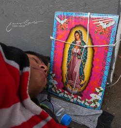 Peregrino en la Ciudad de México