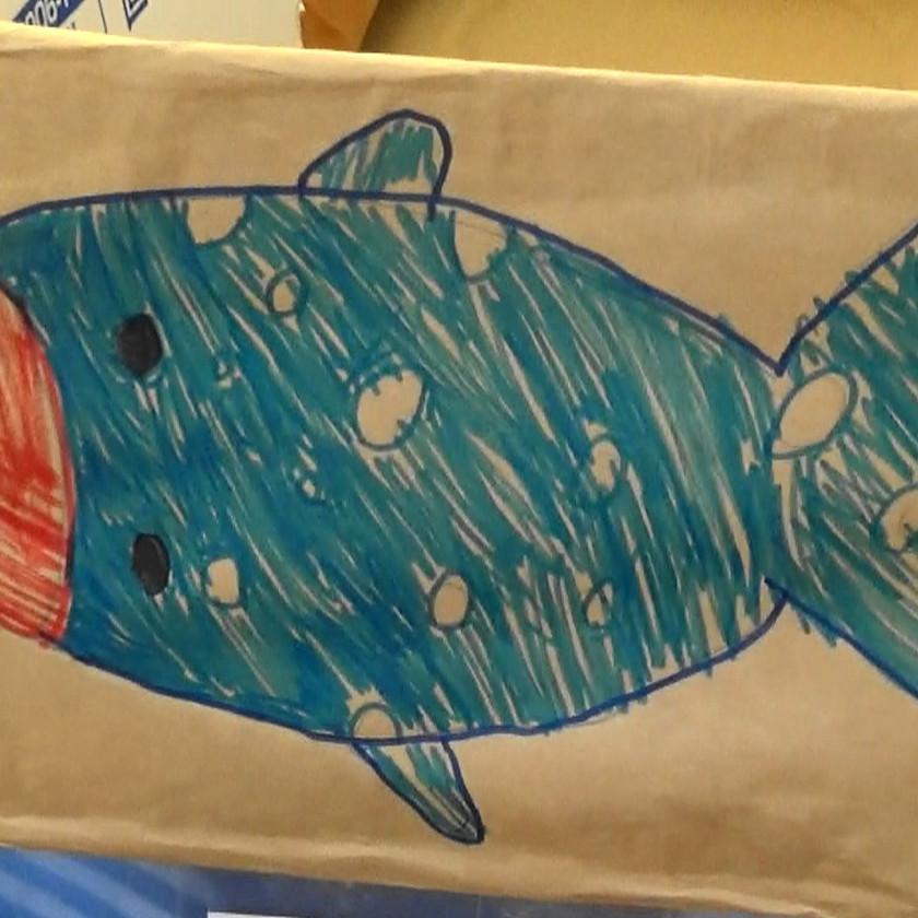 クジラさんかな?
