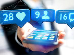 Por que ter pouco texto nas imagens das redes sociais?