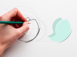 Identidade Visual: criada por profissional x criada em site rápido
