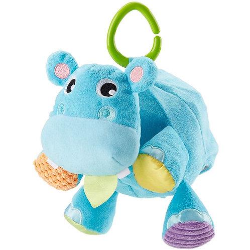 FISHER-PRICE BALL HIPPO 2-IN-1 PLUSH