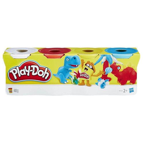 PLAYDOH CLASSIC 4PACK