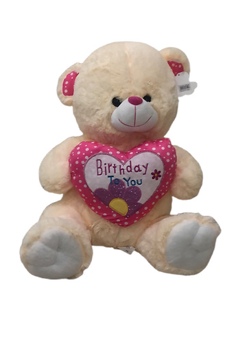 BIRTHDAY TEDDY BEAR 48CM