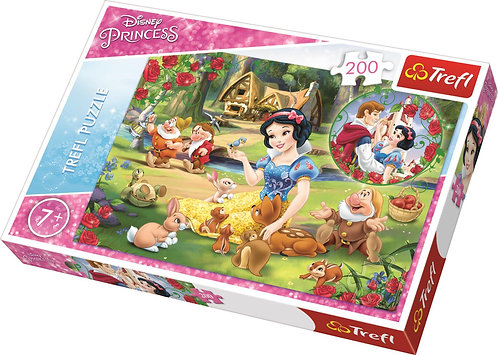 TREFL PUZZLE 200 - DISNEY PRINCESS