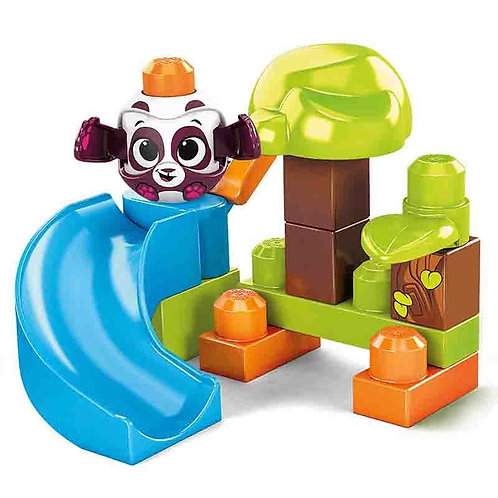 MEGA BLOKS PEEK A BLOCKS FOREST PLAYSET