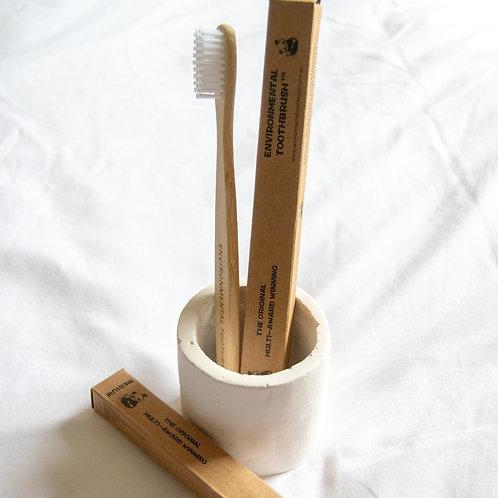 Environmental Toothbrush™ Bamboo Toothbrush - Medium