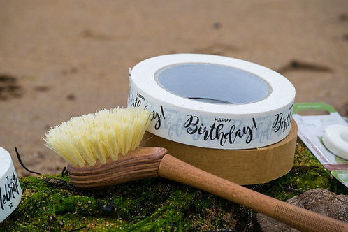 Eco Living Wooden Dish Brush With Replaceable Head