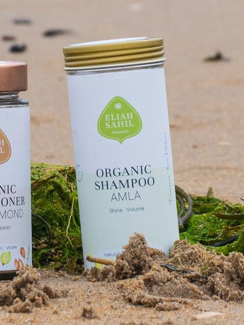 Eliah Sahil Organic Shampoo Powder - Amla - 100g tin