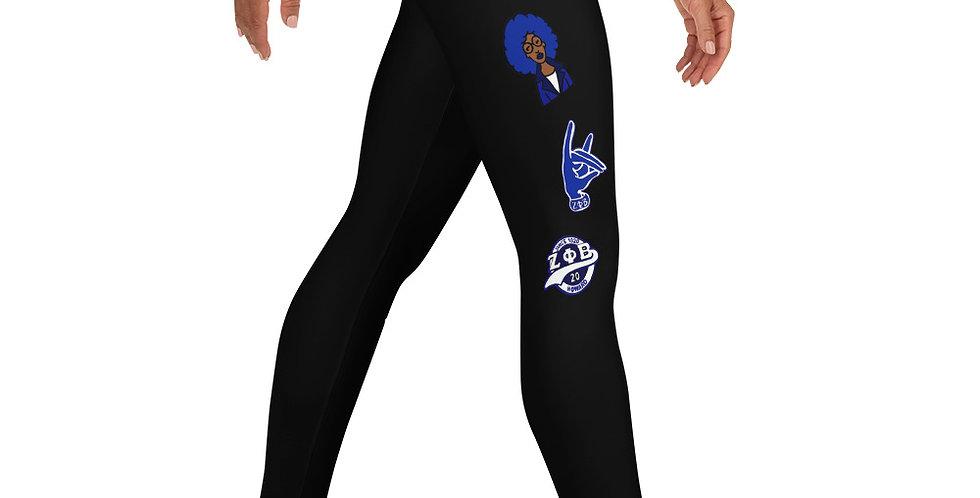 Zeta Centennial Leggings (Black)