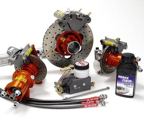 GT4 125 Gearbox 4 Wheel Brake System
