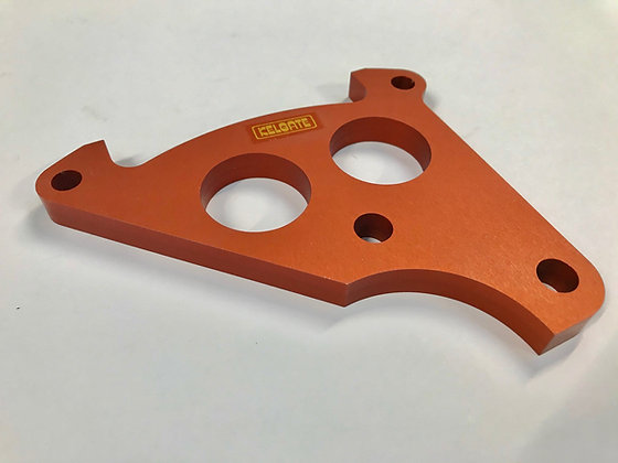 SuperKart Adaptor Bracket - 6 Pot to Kelgate/Anderson Bearing Housing