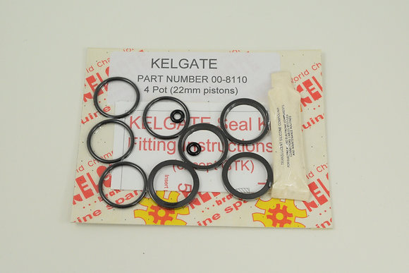 Seal Kit - old KA4 or old 4 Pot Front Caliper