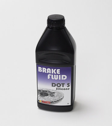Brake Fluid - DOT 5 Silicone (1.0L)