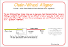 Kelgate R3 Laser Chain Wheel Aligner guide