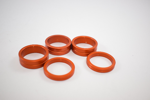 SuperKart Stub Axle Spacer Kit - 25mm